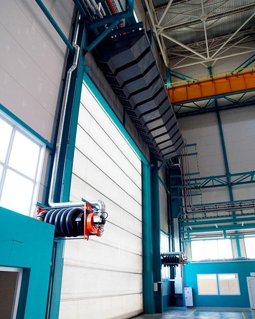 Промышленные тепловые завесы