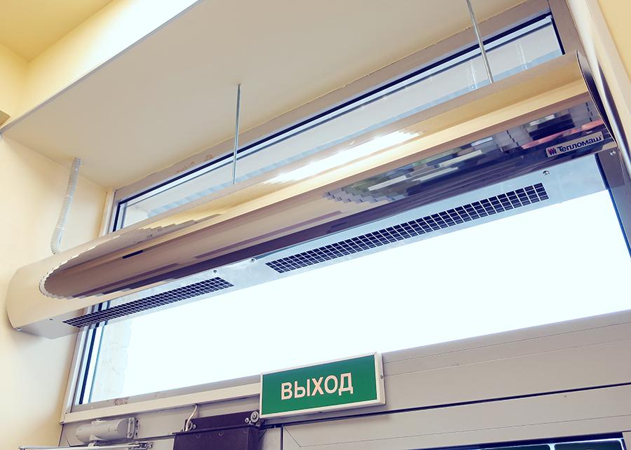 ТЕпловые завесы ТЕломаш серия 100 в Хабаровске