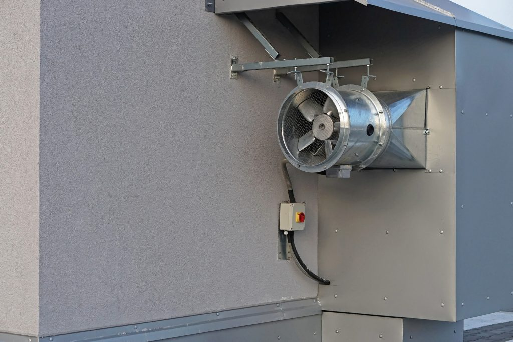 Малогабаритный осевой вентилятор ВО